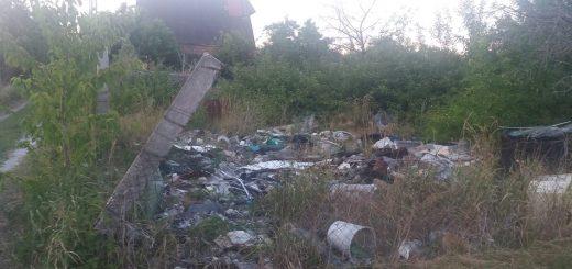 Székesfehérvár Szárazrét Izabella utcában hulladék és patkánytelep