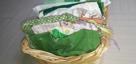 Textilzsák - Készítsd el magad!