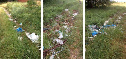 Kerepes határában hulladéklerakatok