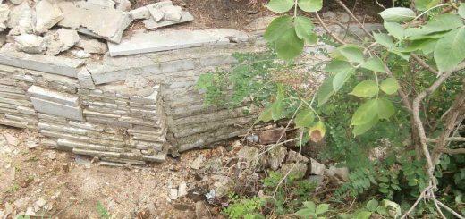 Ürömi patakszennyezés építési hulladékkal