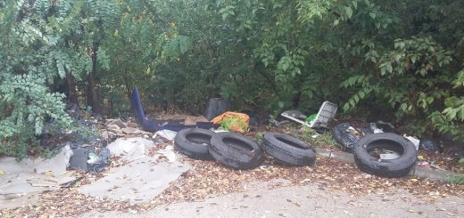 Airport City logisztikai park melletti hulladéklerakat