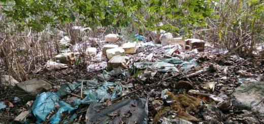Békéscsaba helyi védettségű terültén illegális hulladéklerakat