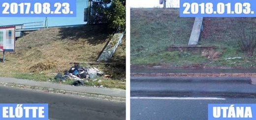 Dombóvári út hulladéklerakata a Móricz Zsigmond tér szomszédságban (Frissítés)