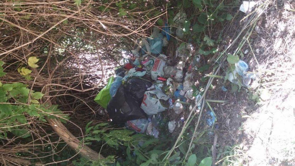 Újbuda Kőérberki dűlő illegális hulladéklerakata. / Fotó: hulladekvadasz.hu