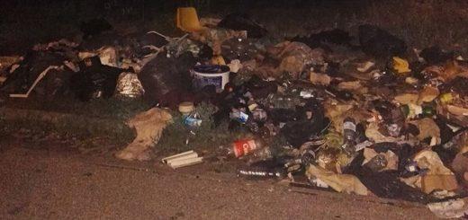 Mátyás király tér mellett hulladéklerakat