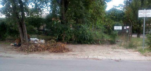 Pajkos utca hulladéklerakatai a tiltótábla ellenére