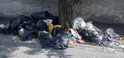 Pesterzsébeti Jókai Mór - Báthory utca hulladéklerakata