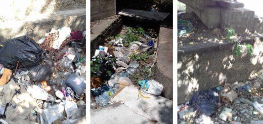 Istvántelek vasútállomásnál illegális hulladéklerakás