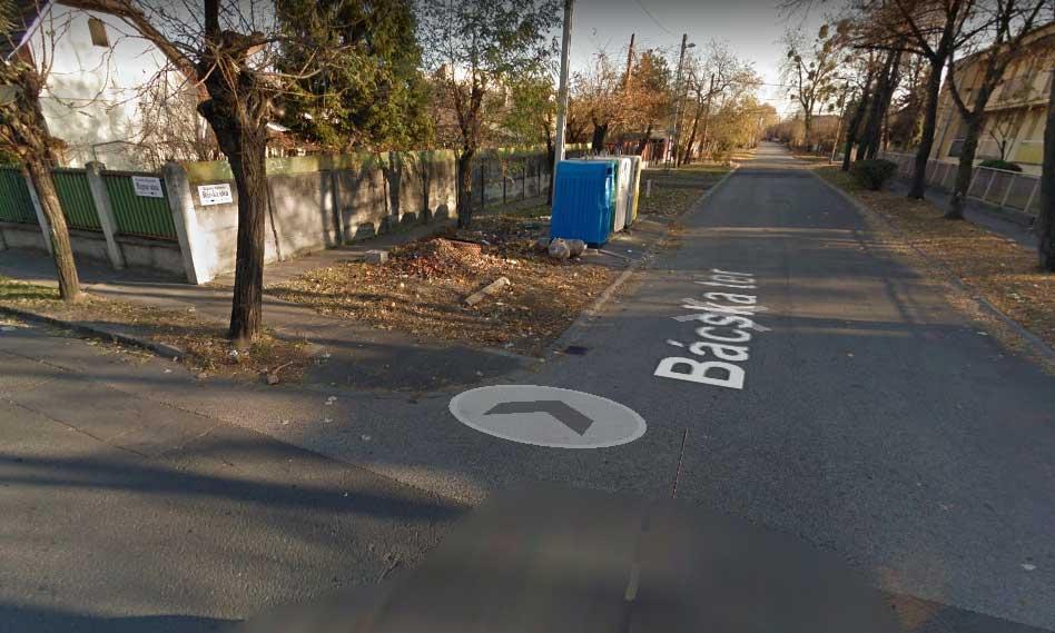 Google Maps 2011-es képe szerint szelektív hulladékgyűjtő volt a helyszínen. / Fotó: Google Maps
