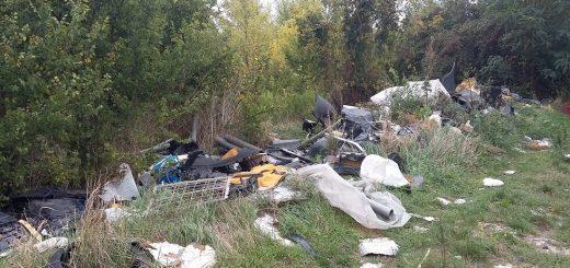 Szigetszentmiklósi Komp utca hulladéklerakata