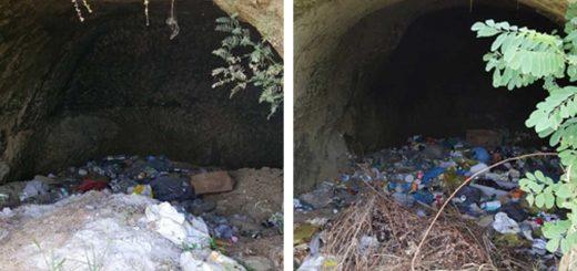 Mátraszele József Attila utca frissen keletkező hulladéklerakatai