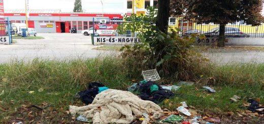 Mexikói út kommunális hulladéklerakása