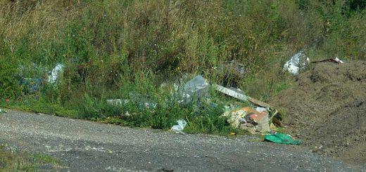 Olaszliszka nyugati határában illegális hulladékelrakások