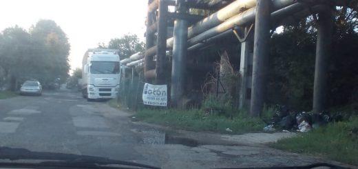 Teherkocsi utca hulladéklerakata Kőbányán