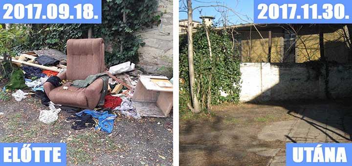 Kőbányai Vaspálya utca hulladékhalma (Frissítve)