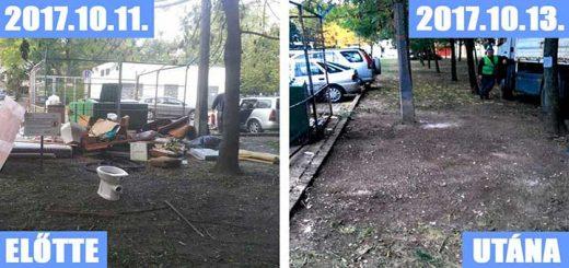 Pokoli hulladékhelyzet Eger Kallómalom utcájában (Frissítve)