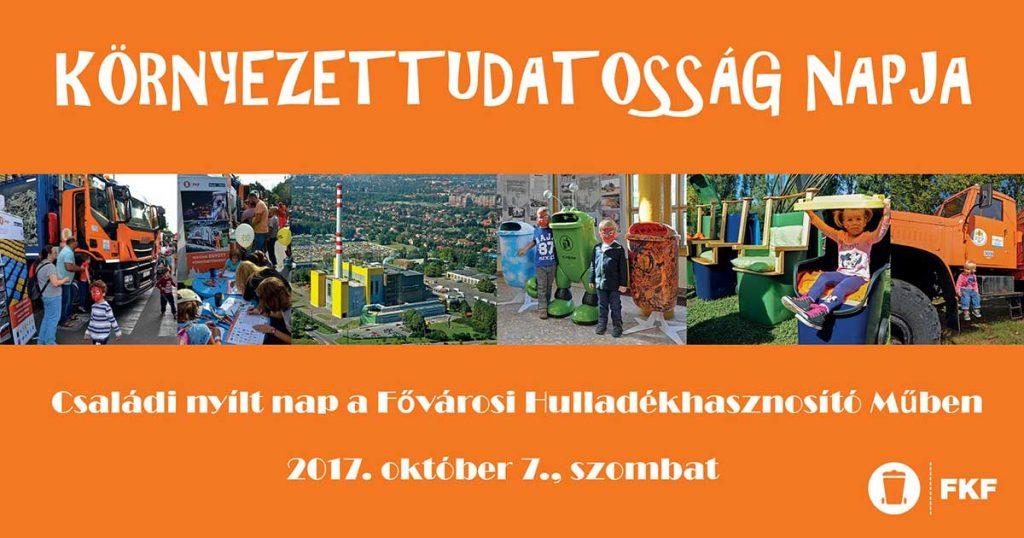Környezettudatosság Napja eseményen Tóth Andi a Hulladékvadászok sátránál lesz megtalálható.