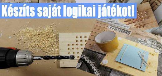 Logikai játék készítése házilag! - #30 DIY