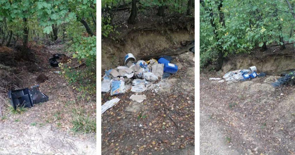 Sokaknak semmi se szent. A képen a Rupp-hegy illegális hulladéklerakata. / Fotó: hulladekvadasz.hu