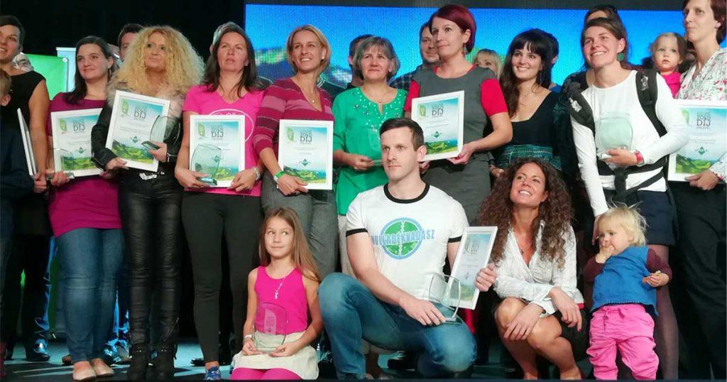 A 8. Ozone Zöld-díj díjazottai. Gratulálunk minden nyertesnek. / Fotó: Hulladekvadasz.hu