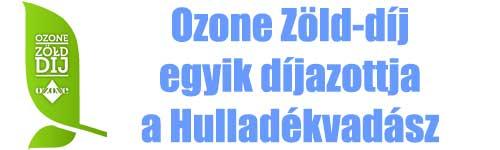 Ozone Zöld-díj egyik díjazottja a Hulladékvadász