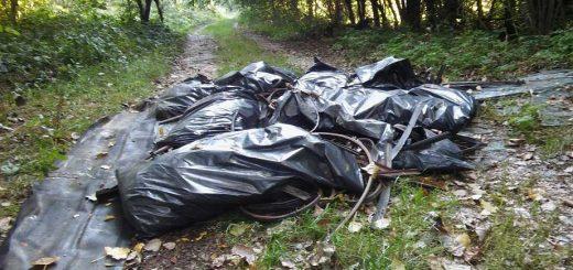 Rákos-patak árter illegális hulladéklerakásai