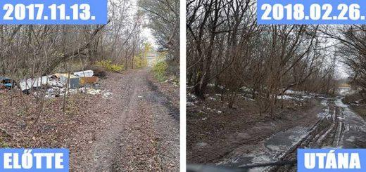 Sárszentmihály és Székesfehérvár határán hulladéklerakatok