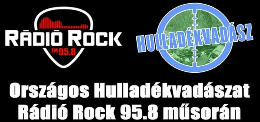 Rádió Rock 95.8 FM műsorán az Országos Hulladékvadászat