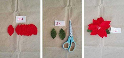 Mikulásvirág készítése a last minute ajándék ötlet
