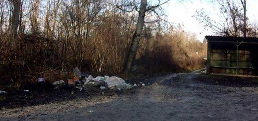 Nyékládháza Galagonya utca hulladéklerakata a Pingyomban