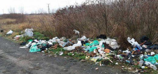 Szekszárd külterületi hulladék a természetben