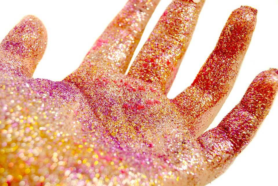 Csillámpor környezetszennyező egy új tanulmány szerint. / Fotó: pixabay.com