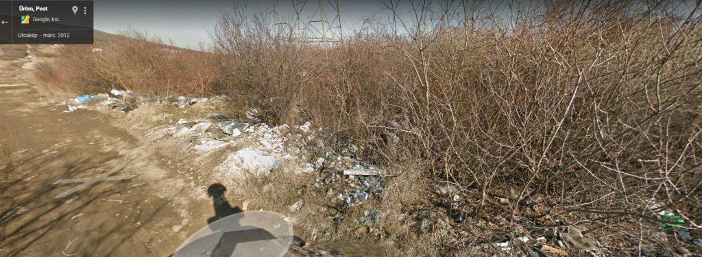 A kép 2012-ből való, de a 2017-es képek szerint semmi se változott a helyszínen. / Fotó: Google Maps
