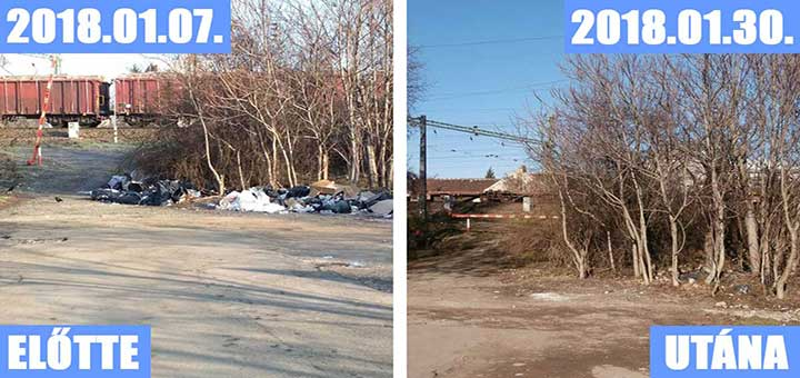 Bazsalikom utca illegális hulladéklerakóvá vált