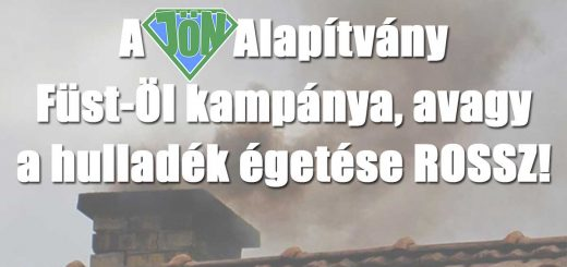 Füst-Öl! - A JÖN Alapítvány téli kampánya