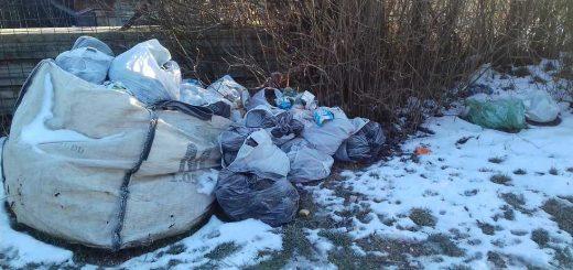 Tetemvár alsósor hulladéklerakata Miskolcon