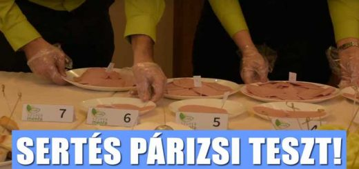 NÉBIH Szupermenta termékteszten a párizsik