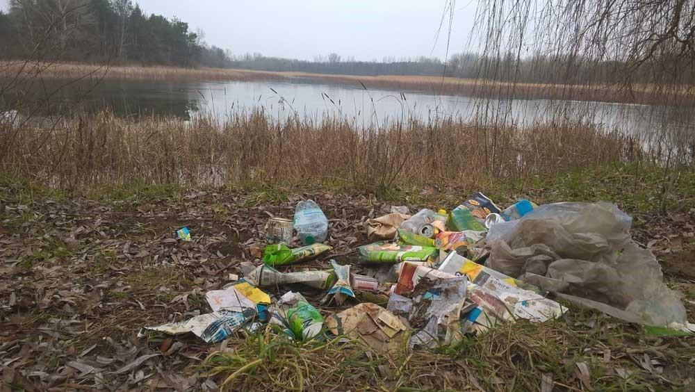 A  Fancsikai-tavak természeti értékeinek meggyalázása? / Fotó: hulladekvadasz.hu