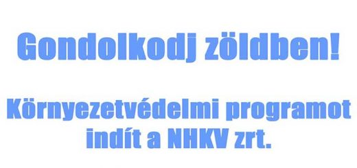 Gondolkodj zöldben! - Hulladékvadászatot indít az NHKV Zrt.