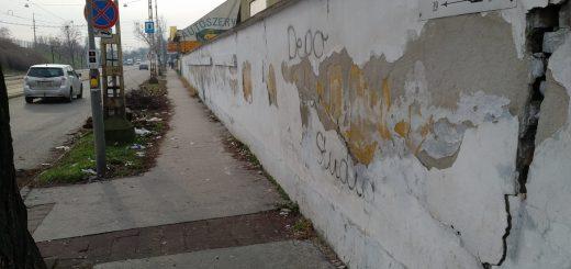 Gubacsi út - Koppány utca sarkára kukákat!