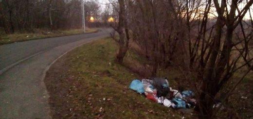 Vízisport utca hulladéklerakatai Soroksáron