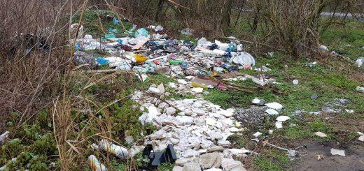 Aba északi csücskében illegális hulladéklerakat