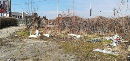 Csömöri úti borzalmas hulladékállapotok