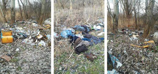Malomkő utca hulladéklerakatai Kerepesen