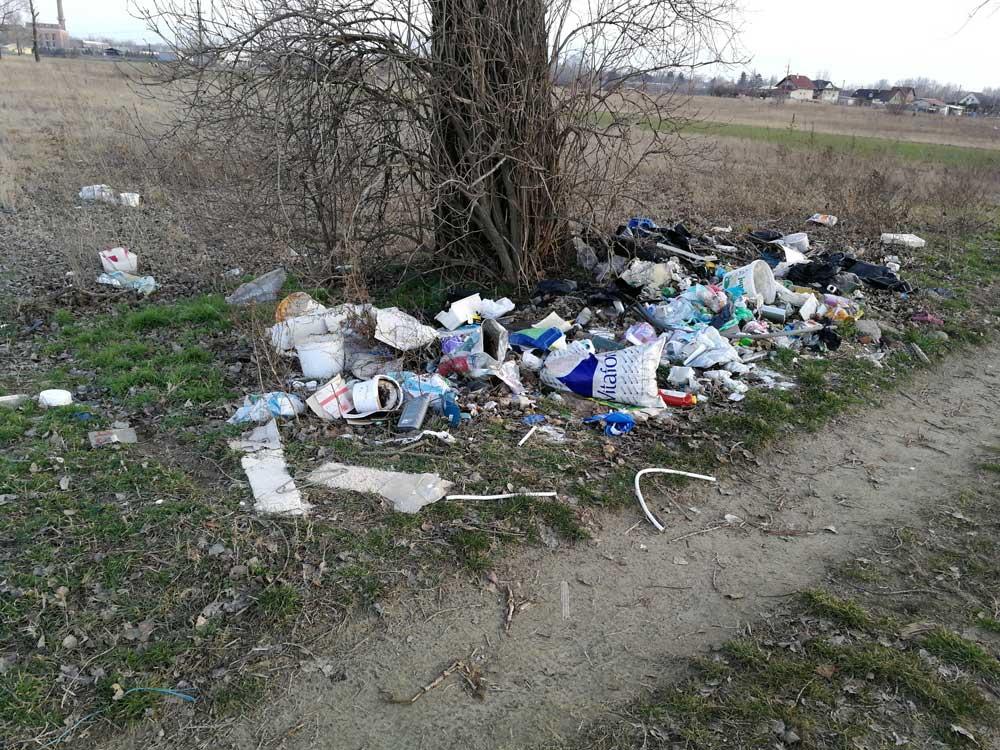 Növekvő hulladék Szigetszentmiklóson. / Fotó: hulladekvadasz.hu