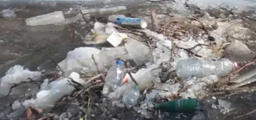 Szombathelyi Gyöngyös-patak hulladékszennyezése