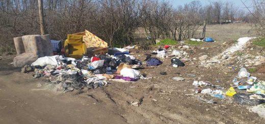 Dunaharaszti kislakásnyi hulladéklerakata