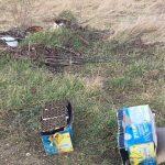 Fülemüle utca - Nádas utca hulladéka Diósdon