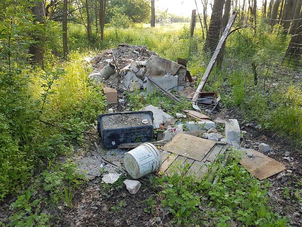 Nyúl dűlő építési hulladéklerakata