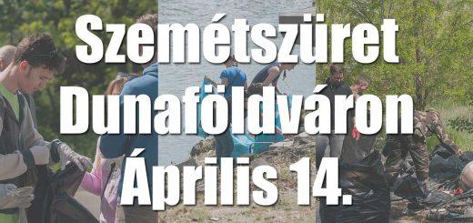 Aztakeservit, szemétszerűt Dunaföldváron!